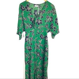 NWT Lush Floral Jumpsuit Size Small